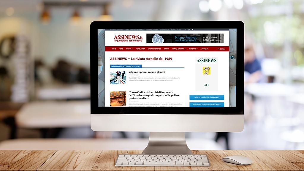 Rivista mensile Assinews - l'informazione tecnica per l'intermediario assicurativo   Assinform Solutions